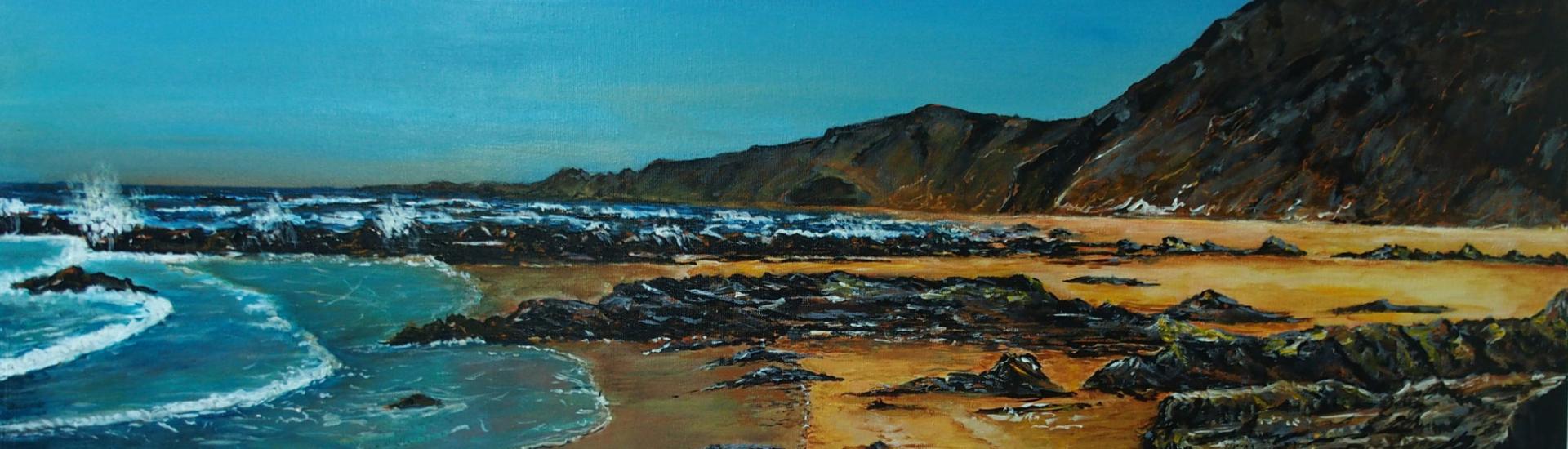 Siegfried Huber - Bild: Atlantikküste Portugal-Strand Castelejo