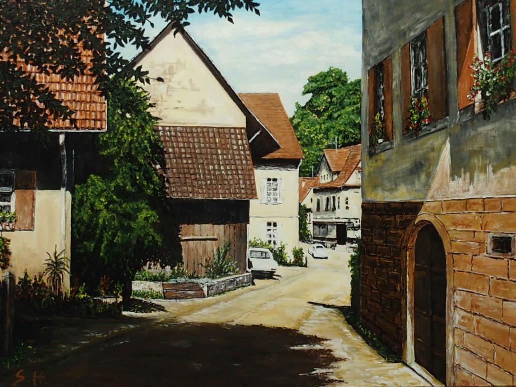 Siegfried Huber - Bild: Lauf Ortsstraße 1950