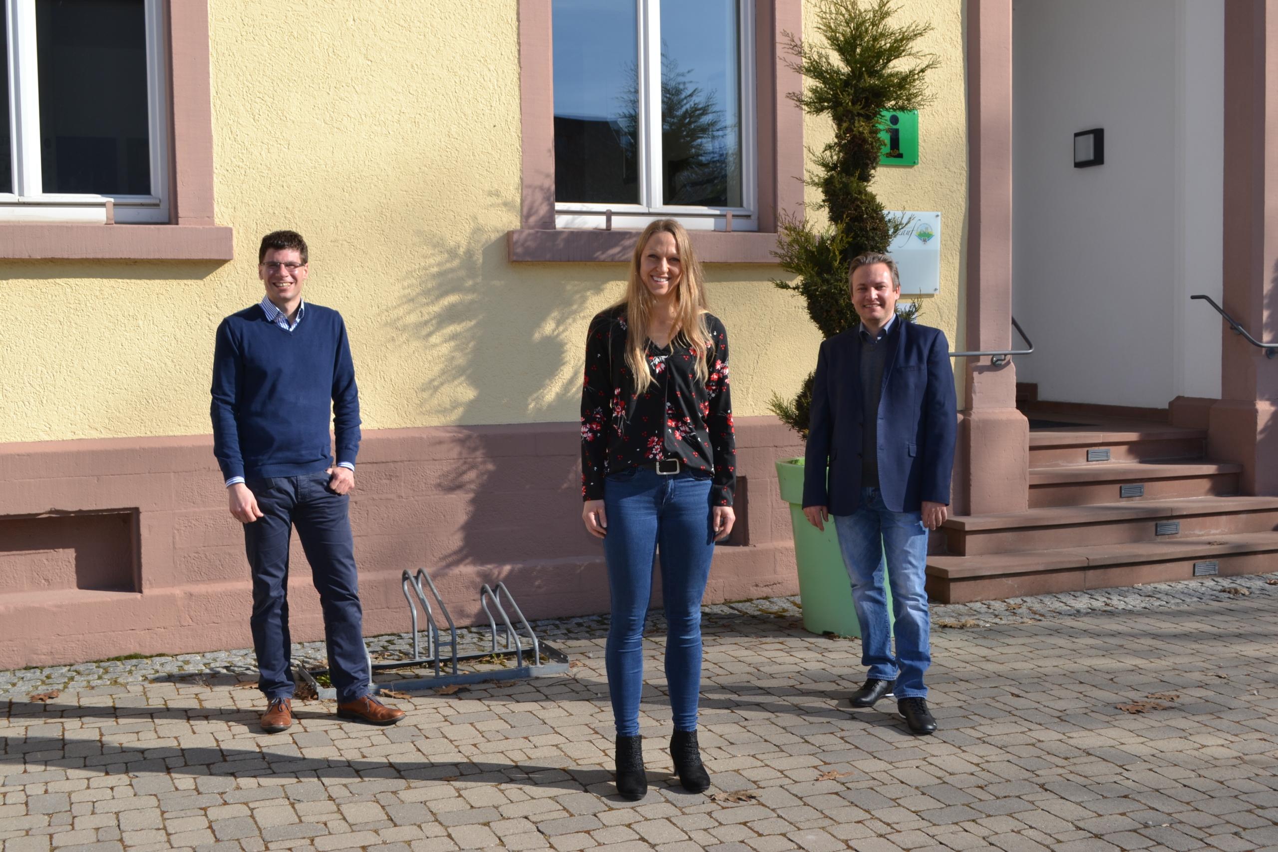 Gemeindeverwaltung Lauf begrüßt neue Mitarbeiterin