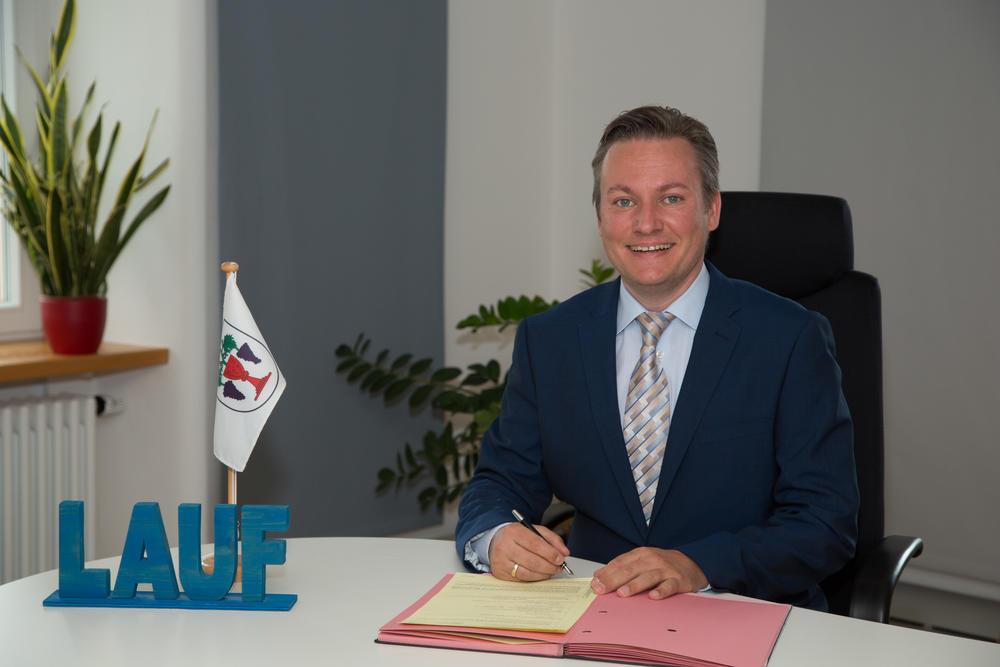 Foto: Oliver Rastetter, Bürgermeister der Gemeinde Lauf