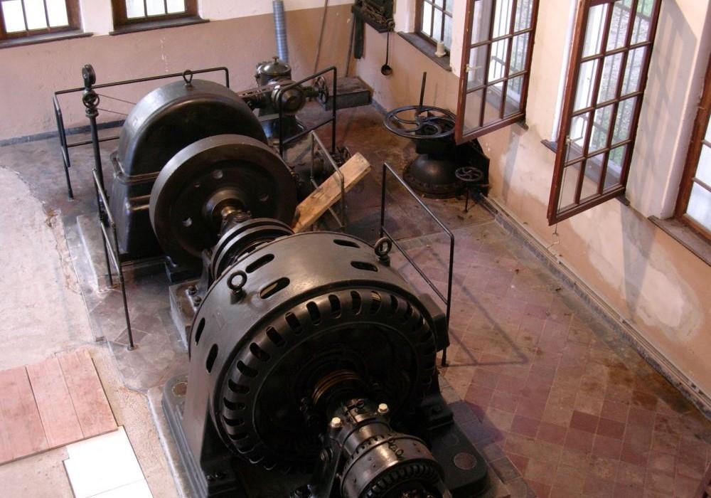 Foto: Turbine im Kraftwerk